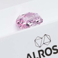 Largest Pink Diamond Ever Mined in Russia Goes on Display in New York