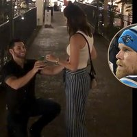 Panthers' Greg Olsen Films In-Progress Marriage Proposal: 'Best Thing I've Ever Witnessed'