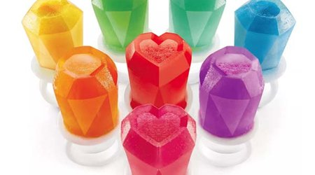 Stay Cool This Summer With Frozen Treats That Resemble Colorful Gemstones