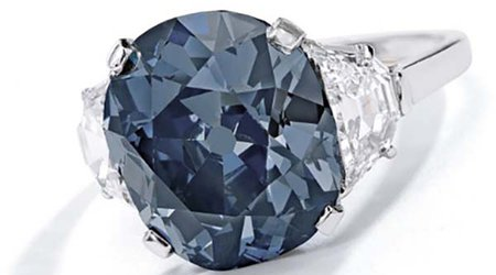 'The Indian Blue' Diamond Earns Top Billing at Sotheby's Magnificent Jewels Sale