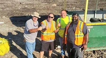 Tampa Man Digs Through 10 Tons of Trash to Rescue Wife's Engagement Ring