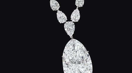 115-Carat Pear-Shaped Diamond Is the Star of Christie's New York Auction