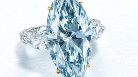 12-Carat Blue Diamond Headlines Christie's First Live Auction Since Outbreak