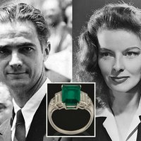 Katherine Hepburn's Emerald Engagement Ring From Howard Hughes Fetches $108K