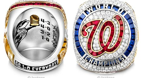 Nationals' 2019 World Series Rings Feature 257 Gemstones and One Baby Shark