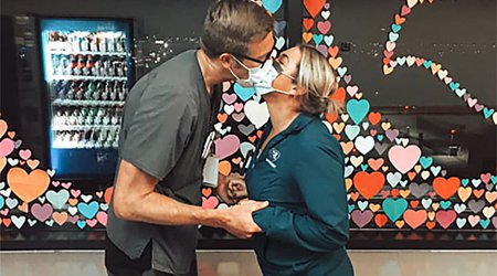 Omaha Nurses Overcome Stress and Exhaustion to Prove Love Conquers All
