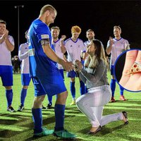 Pizza Ring Empowers Aussie Woman to Pop the Question During Soccer Match